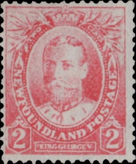 Newfoundland_1911_King_George_V_2c_Forgery