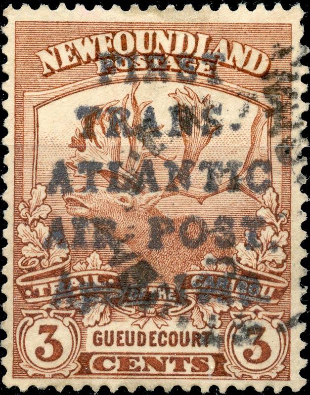 Newfoundland_1919_Airmail_3c_Forgery2