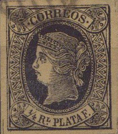 Spanish_West_Indies_1864_Queen_Isabella_1-4_Reales_Plata_Forgery