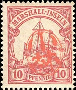 Marshall_Islands_10pf_Japanese_Postmark_Forgery