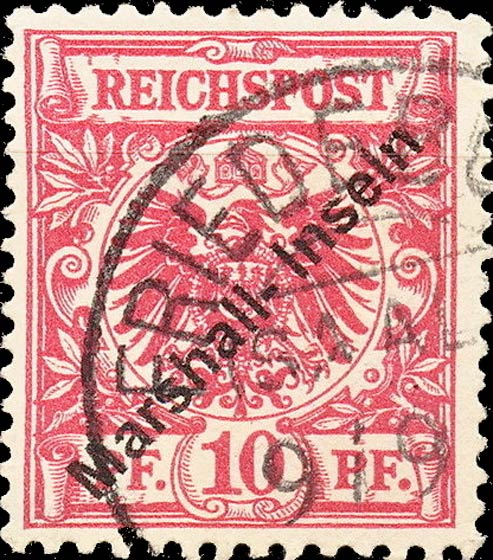 Marshall_Islands_1897_German_Reich_10pf_Forgery