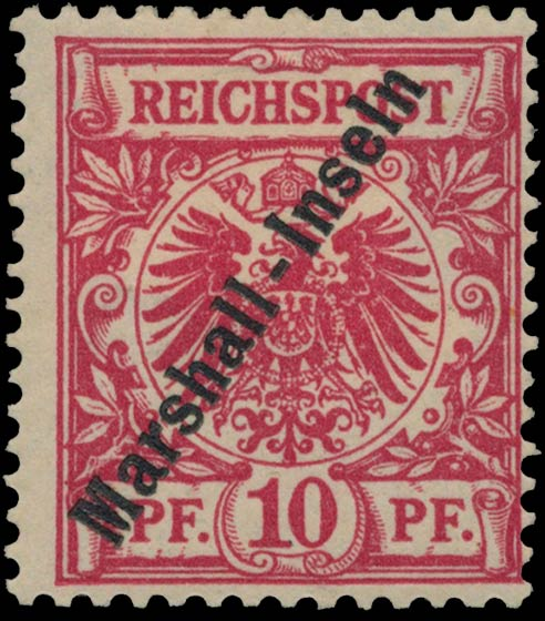 Marshall_Islands_1897_German_Reich_10pf_Genuine