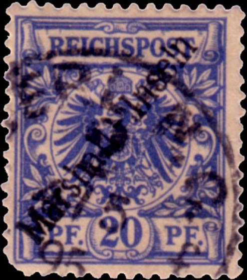 Marshall_Islands_1897_German_Reich_20pf_Forgery