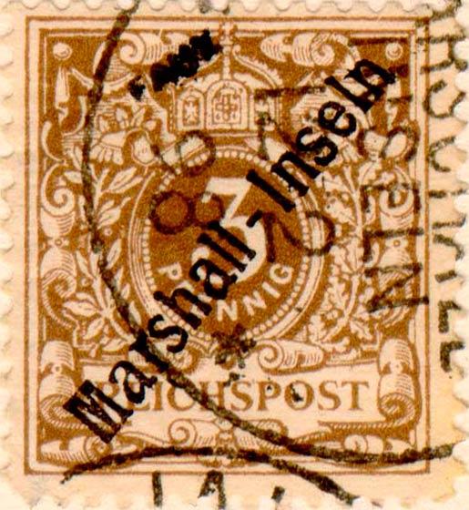 Marshall_Islands_1897_German_Reich_3pf_Fournier_Forgery