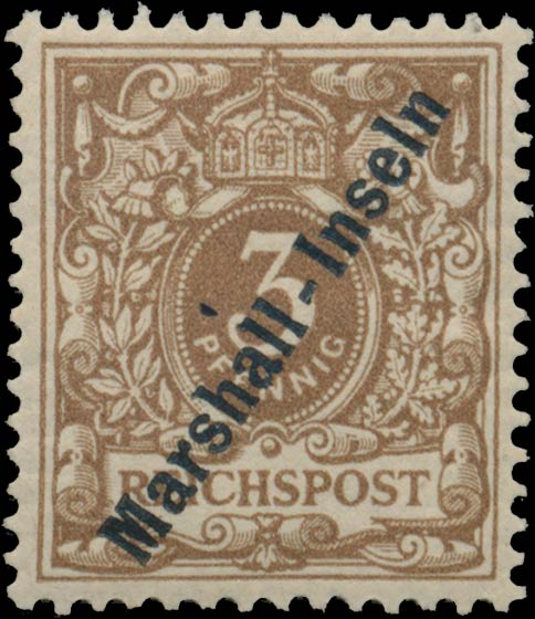 Marshall_Islands_1897_German_Reich_3pf_Genuine