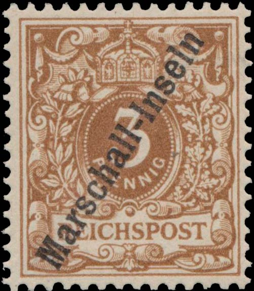 Marshall_Islands_1897_German_Reich_3pf_Genuine2