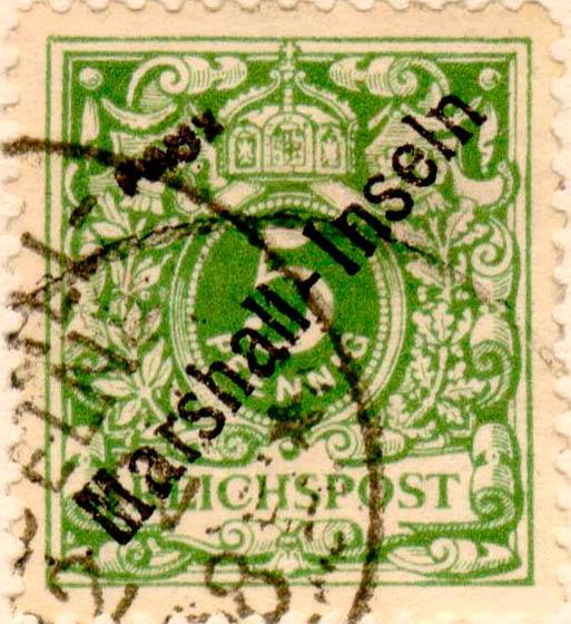 Marshall_Islands_1897_German_Reich_5pf_Fournier_Forgery