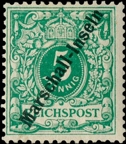 Marshall_Islands_1897_German_Reich_5pf_Genuine