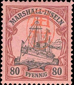 Marshall_Islands_80pf_Japanese_Postmark_Forgery
