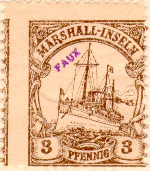 Marshall_Islands_Kaiseryacht_3pf_Fournier_Forgery