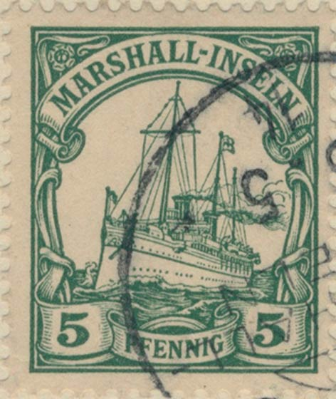 Marshall_Islands_Kaiseryacht_5pf_Genuine