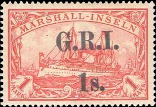 Marshall_Islands_New_Britain_1914_GRI_1m_Forgery