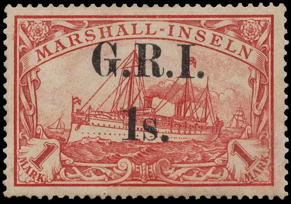 Marshall_Islands_New_Britain_1914_GRI_1m_Type-1_Genuine