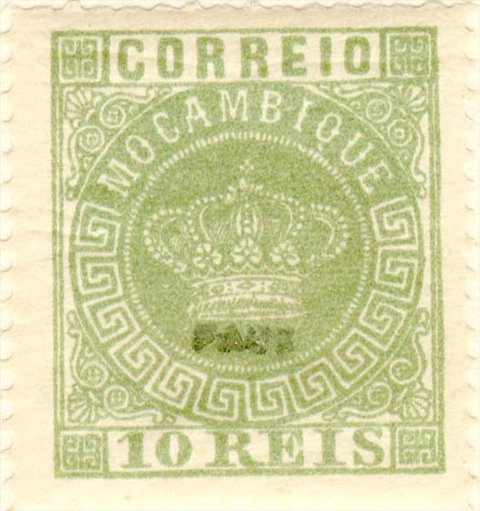 Mocambique_Crown_10Reis-green_Fournier_Forgery