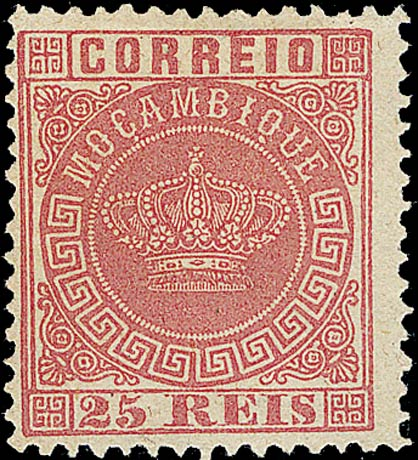 Mocambique_Crown_25Reis-red_Forgery