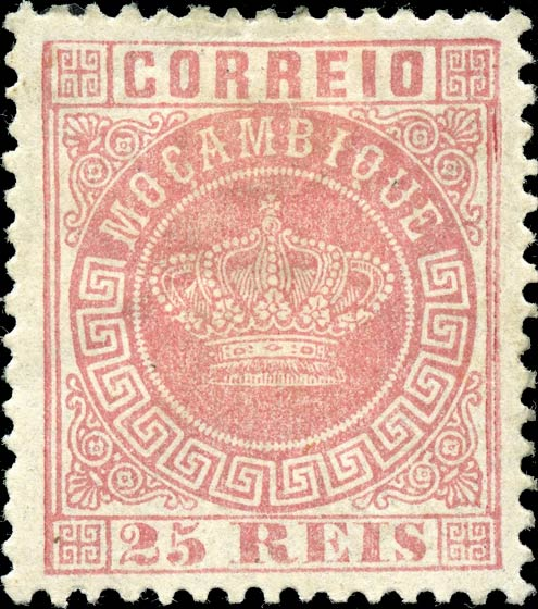 Mocambique_Crown_25Reis-red_Genuine