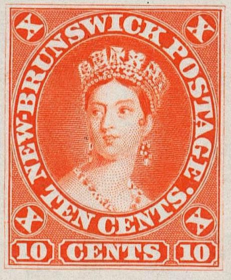 New_Brunswick_10c_Queen_Victoria_Proof_Genuine