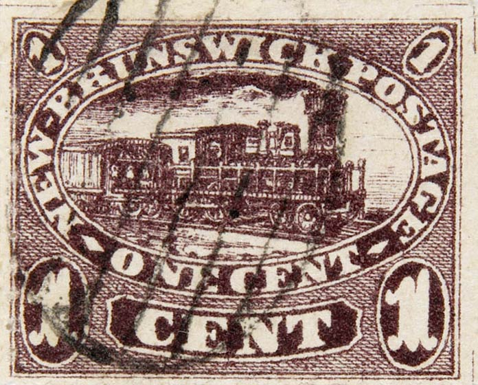 New_Brunswick_1c_Locomotive_Spiro_Forgery