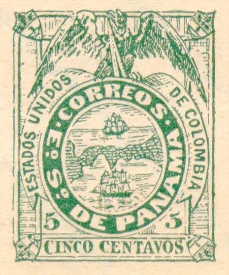 Panama_1878_5c_Fournier_Forgery