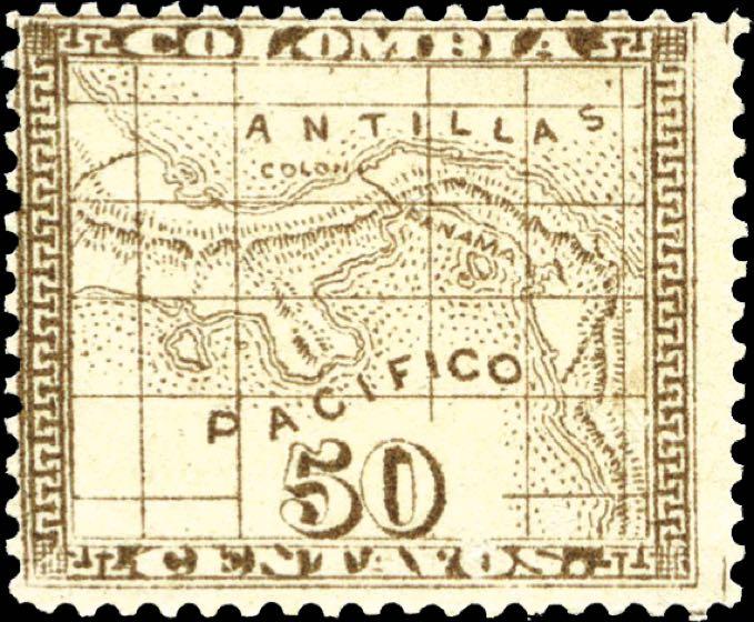 Panama_1887_Isthmus_of_Panama_50c_Genuine