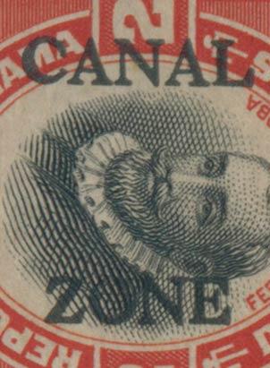 Panama_Canal_Zone_Genuine_Overprint