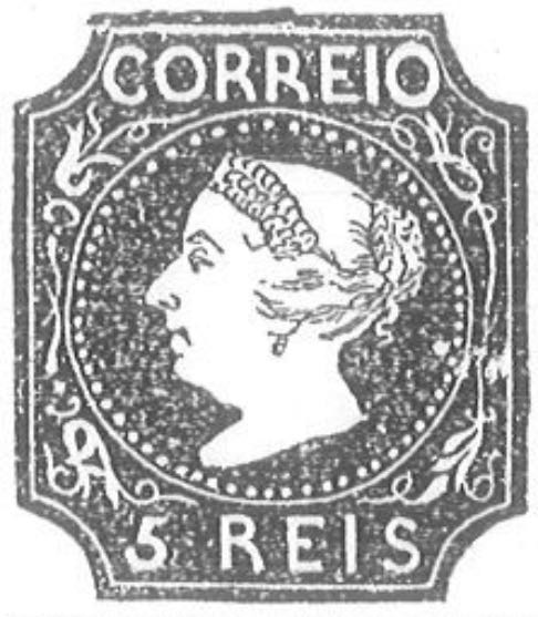 Portugal_1853_MariaII_5reis_Torres_Illustration