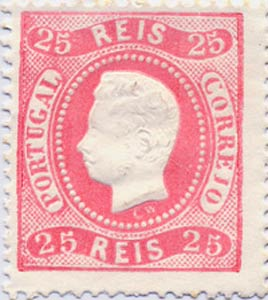Portugal_1870_Luis_25reis_Genuine