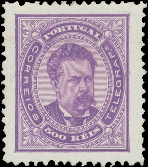 Portugal_1887_Luis_500reis_Genuine