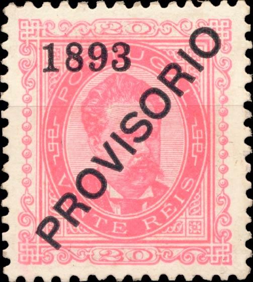 Portugal_1893_Provisorio_20reis_1905-reprint