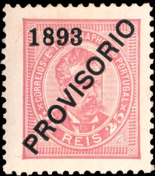 Portugal_1893_Provisorio_25reis_Genuine