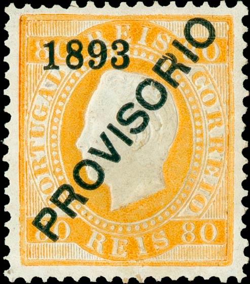 Portugal_1893_Provisorio_80reis_1905-reprint