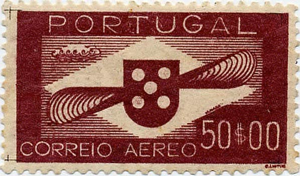 Portugal_1940_Airmail_50_Forgery