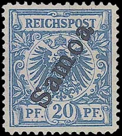 Samoa_1900_Reichpost_Samoa_20pf_Forgery