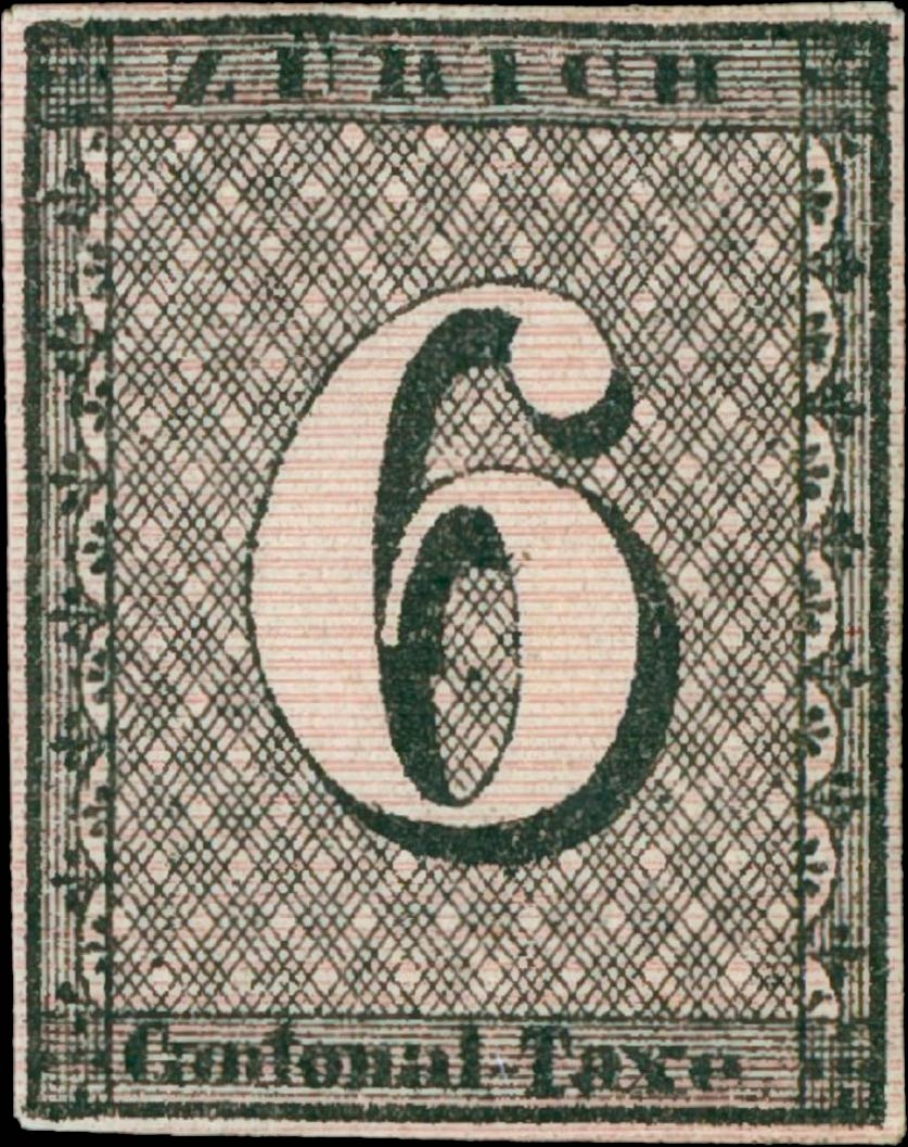 Zurich_1843_6rp_horizontal-lines_type4_Sperati_Forgery