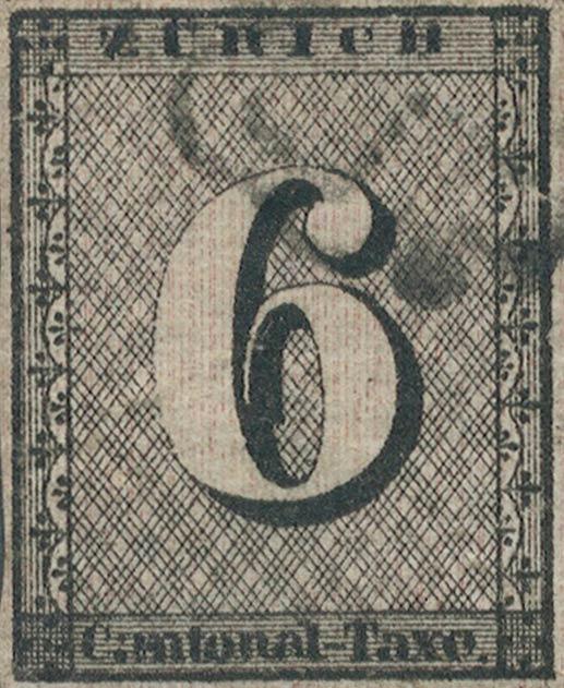Zurich_1843_6rp_vertical-lines_type5_Genuine
