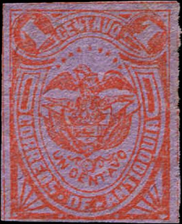 Antioquia_1886_Coat-of-arms_1c_Forgery