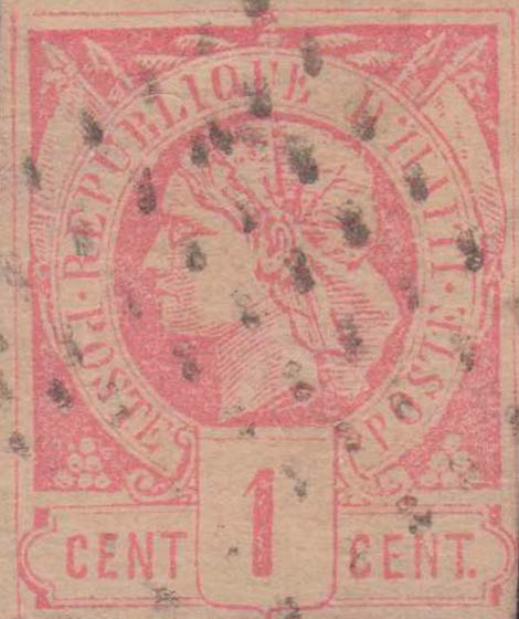 Haiti_1881_Liberty_1c_Forgery
