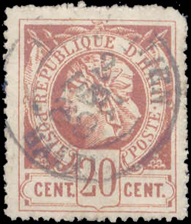 Haiti_1881_Liberty_20c_Forgery