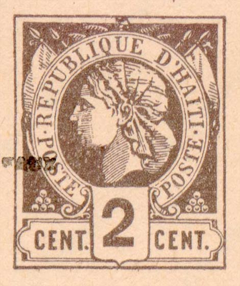 Haiti_1881_Liberty_2c_Fournier_Forgery