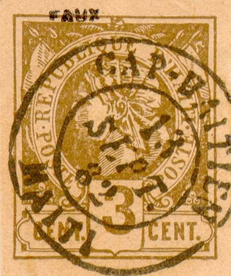 Haiti_1881_Liberty_3c_Fournier_Forgery