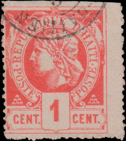 Haiti_1882-85_Liberty_1c_Forgery