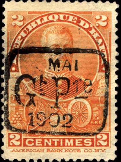 Haiti_1902_Mai-gt-Pre_Overprint_2c_Forgery