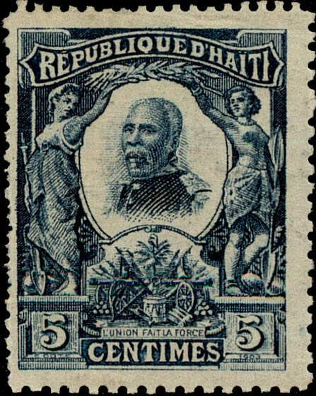 Haiti_1904_5c_Genuine