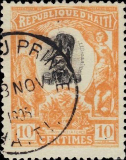Haiti_1904_Emperor_Jean_Jacques_Dessalines_10c_Genuine