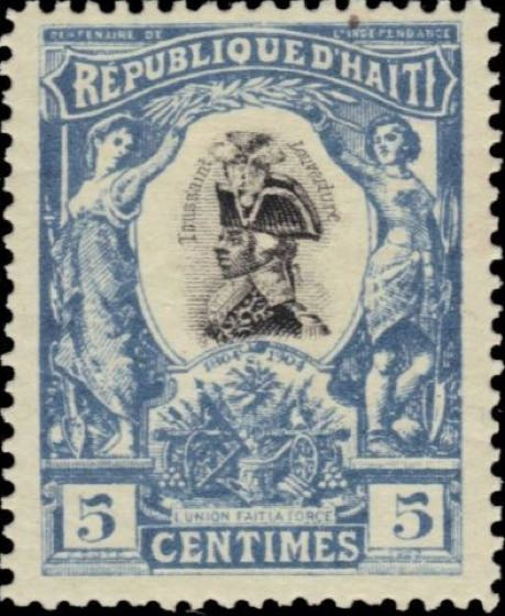 Haiti_1904_Francois-Dominique_Toussaint_5c_Forgery