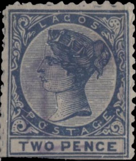 Lagos_1886_QV_2p_Forgery