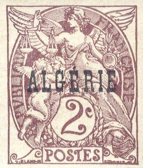 Algeria_1924_2c_Forgery