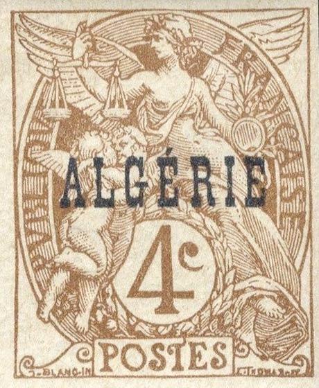 Algeria_1924_4c_Forgery