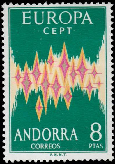 Andorra_1972_Europa-CEPT_8ptas_Genuine