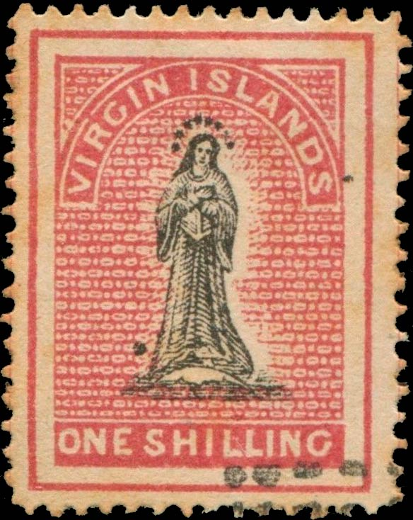 British_Virgin_Islands_1867_St.Ursula_1s_Forgery1